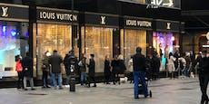 Ansturm auf Luxus-Store nach dem Lockdown