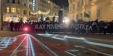 Demo gegen Rechts wegen verhülltem Flüchtlings-Denkmal
