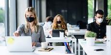 Zehn Minuten Maskenpause fürBeschäftigte