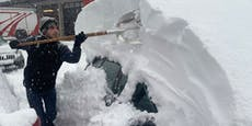 Höchste Warnstufe: Rekord-Schnee war erst der Anfang