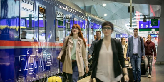 Die Strecken der ÖBB-Nightjets werden massiv ausgebaut.