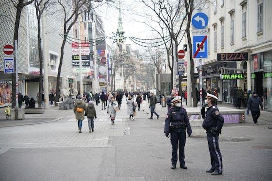 Die Wiener Mariahilfer Straße gilt als die Wiener Einkaufsstraße schlechthin. Symbolbild.