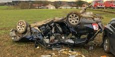 Schwerer Crash bei Kreuzung fordert mehrere Verletzte