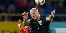 Spielplan steht! Österreich startet Quali in Schottland