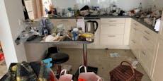 Mieterin hinterlässt Wohnung voll Abfall und Dreck
