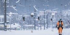 Tief Olaf sorgt für Schnee-Nachschub in Österreich