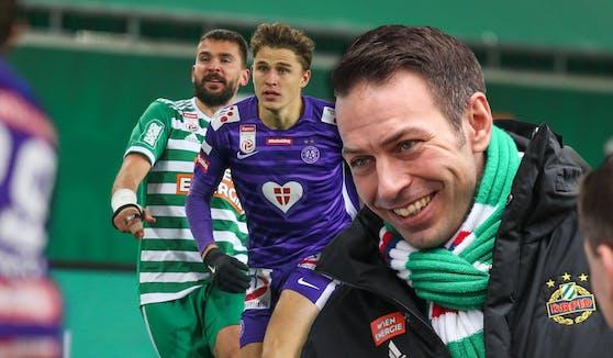 """Christoph Peschek: """"Jeder Derbysieg ist etwas Besonderes und davon möchte ich noch viele erleben."""""""