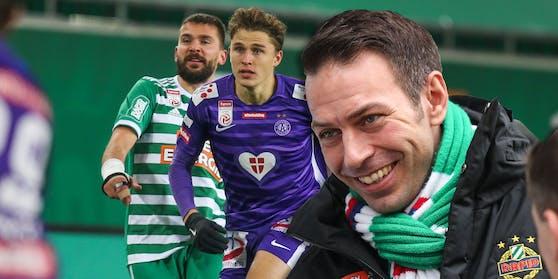 Christoph Peschek hofft, dass es noch viele Derbys gibt.