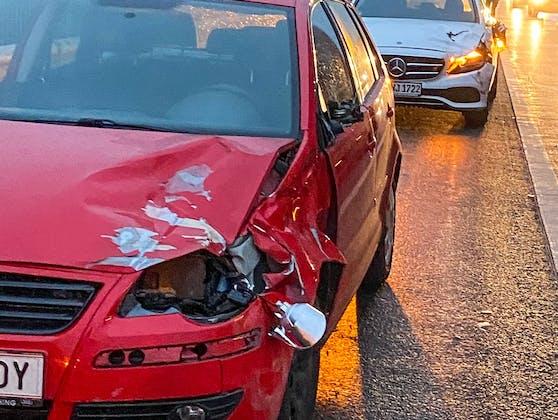 Auf der Westautobahn kam es zu einem Unfall durch zwei Kühe. Mehrere Autos wurden beschädigt.