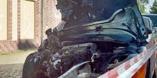 Mann parkt seinen Audi am Gehsteig – dann passierte DAS