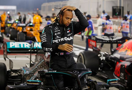 "Lewis Hamilton: ""Ich glaube an Dinge."""