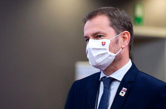 Der slowakische Ministerpräsident Igor Matovic kündigte einen harten Lockdown an.