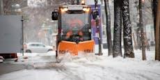Der Schnee kommt jetzt bis nach Wien