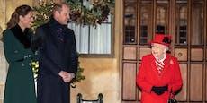 Die Queen sieht erstmals ihre Familie wieder