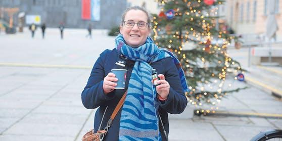 """Bei mehreren Punschständen bekam """"Heute""""-Testerin Christine Ziechert auf Nachfrage Alkoholisches."""