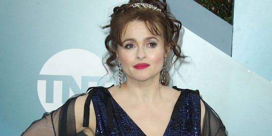 """Helena Bonham Carter war unter anderem in """"The Crown, """"Harry Potter""""-Filmen sowie in mehreren Filmen von Tim Burton zu sehen."""