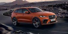 Raubkatze mit viel Power: Der neue Jaguar F-Pace SVR