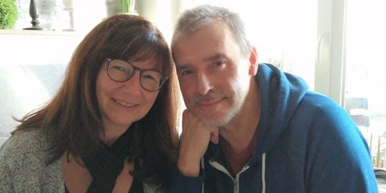 Freuen sie sich:  Sylvia und Mann Andreas