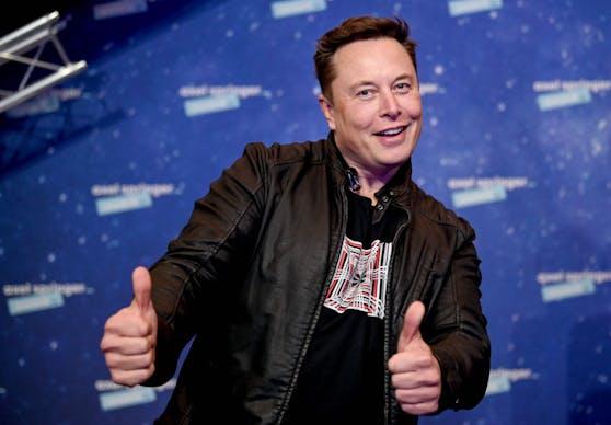 Hat gut lachen: Elon Musk.