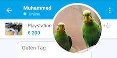 Willhaben – Wiener bietet  Haustiere gegen PlayStation