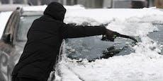 Schnee in Massen: Jetzt drohen Autofahrern hohe Strafen