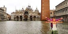 Venedig rechnet mit Hochwasservon über einem Meter