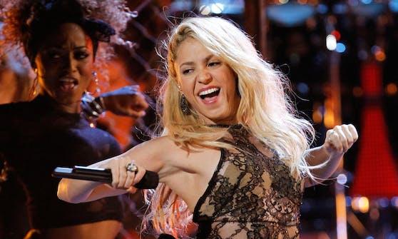 Mit Popstar Shakira