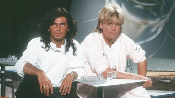 """Mit """"You're My Heart, You're My Soul"""", ihrem ersten Hit, schafften es Thomas Anders (links) und Dieter Bohlen in 35 Ländern in die Top 10."""
