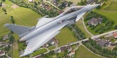 Überschall-Training der Eurofighter – wo es kracht