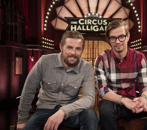 "Klaas und Joko in ""Circus Halligalli"""