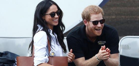 Hatten nicht immer viel zu lachen: Prinz Harry und seine Meghan.