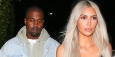 Kim Kardashian nimmt Kanye West in Schutz