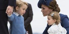 Kate und William machen sich Sorgen um Prinz George (8)