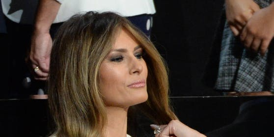Lieblingsfarbe Weiß: Melania Trump