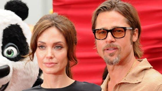 Wohl das letzte gemeinsame Foto der beiden Schauspieler für einige Zeit: Brad Pitt und Angelina Jolie kurz vor der Trennung.
