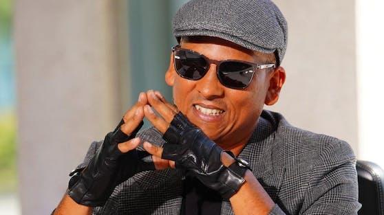 Immer mit Sonnenbrille: Xavier Naidoo bei DSDS