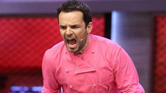 "Steffen Henssler bei ""Grill den Henssler"" - der TV-Koch verliert nicht gern."