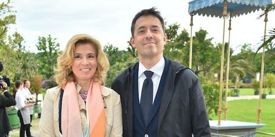 Bogdan Roščić mit seiner Ehefrau Christine Klimaschka.