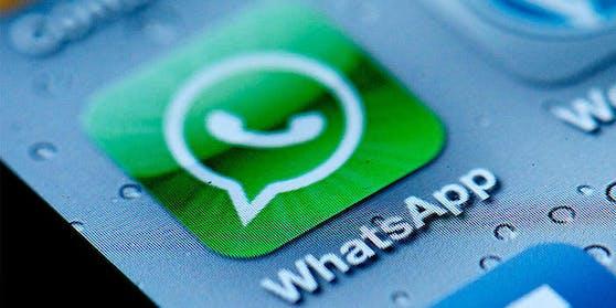 Auf WhatsApp soll man künftig Nachrichten verschicken können, die wieder verschwinden.