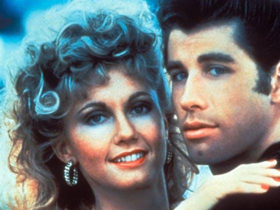 """""""Grease"""": Olivia Newton-John und John Travolta"""