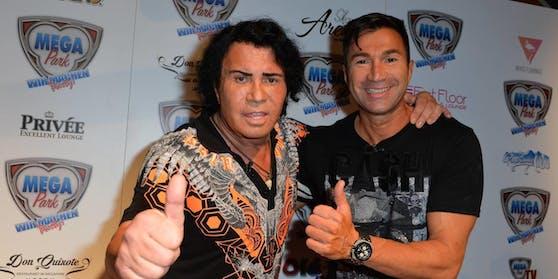 Papa Costa und Lucas Cordalis - wird auch der Junior zum Dschungelkönig gekürt?