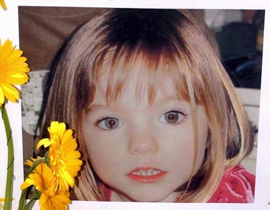 Madeleine McCann verschwand mit drei Jahren spurlos. Weltweit wurde nach dem Mädchen mit der auffälligen Pupille im rechten Auge gesucht.