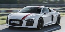Audi R8 soll schuld sein, dass Lenker zu schnell war