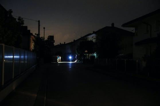 Manche Teile Wiens sind derzeit ohne Stromversorgung.