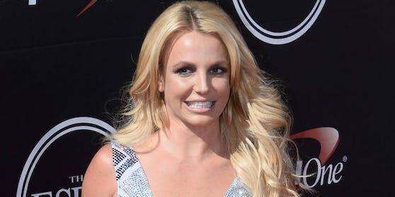 """US-Star Britney Spears bei den """"ESPY Awards"""" im Juli 2015 in Los Angeles"""