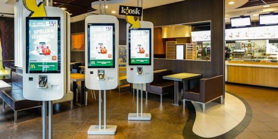 Die McDonalds-Filiale am Wiener Schwarzenbergplatz