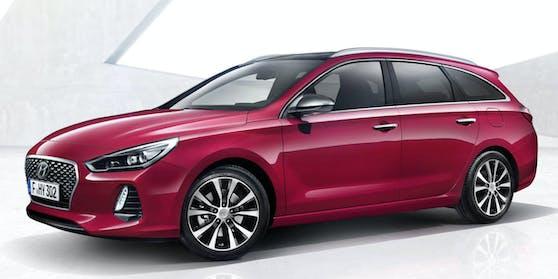 Der Hyundai i30 Kombi ist zum Start dabei.