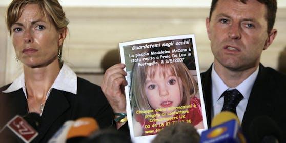 Kate und Gerry McCann suchen seit nunmehr zehn Jahren nach ihrer Tochter Maddie, die am 3. Mai 2007 aus einer Ferienanlage in Portugal verschwand.