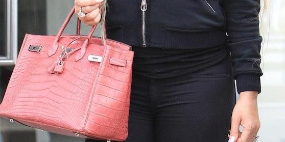 Mariah Carey ganz leger beim Shoppen: Ihre Hermes Birkin Bag ist eine bessere Geldanlage als Gold.
