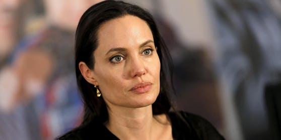 Hollywoodstar Angelina Jolie.
